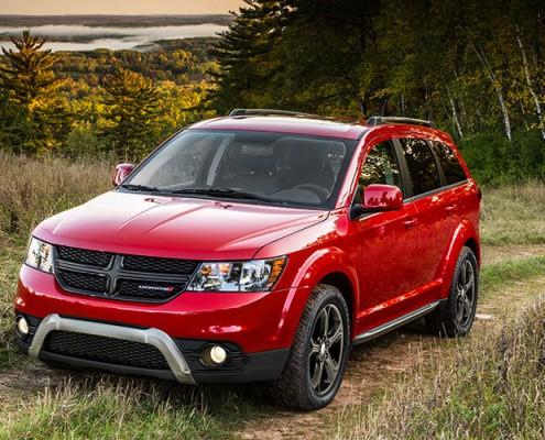 Dodge Journey 2016 Montréal Laval red